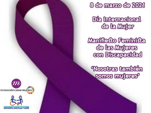 Manifiesto Feminista  de las Mujeres con Discapacidad
