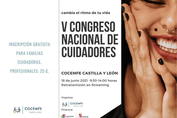 COCEMFECYL ORGANIZA EL V CONGRESO NACIONAL DE CUIDADORES FAMILIARES Y PROFESIONALES